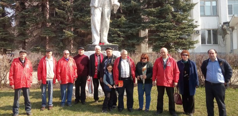 Ко Дню рождения В.И. Ленина касимовские коммунисты провели автопробег
