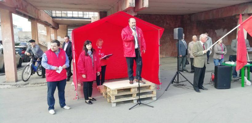 В Рязани состоялся митинг левопатриотических сил во главе с КПРФ «За справедливую, народную власть!»