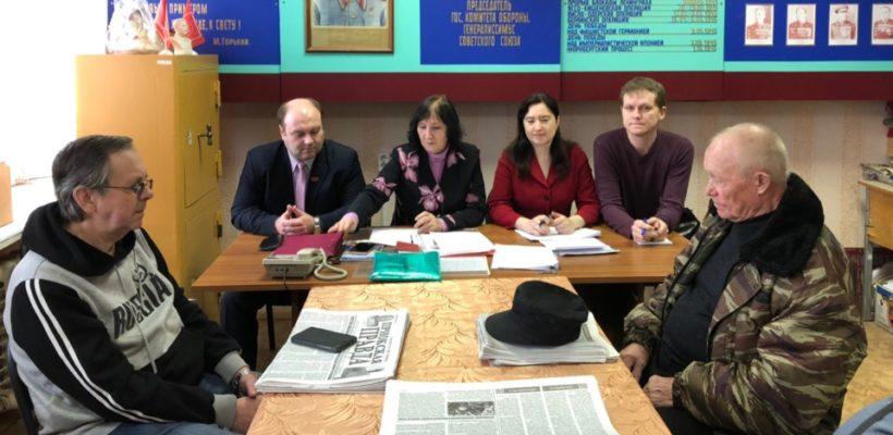 Состоялась рабочая встреча секретарей обкома с пронскими коммунистами