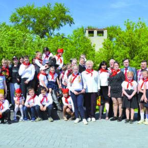 Рязанская пионерия отметила 99-ю годовщину
