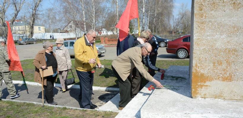 День рождения В.И. Ленина в Ухолово