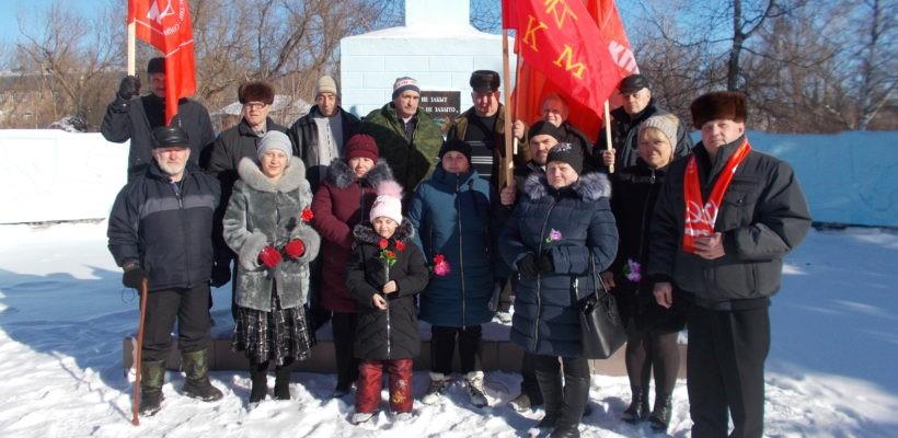 В Чучково прошли торжественные мероприятия в честь Дня Советской Армии и Военно-Морского Флота
