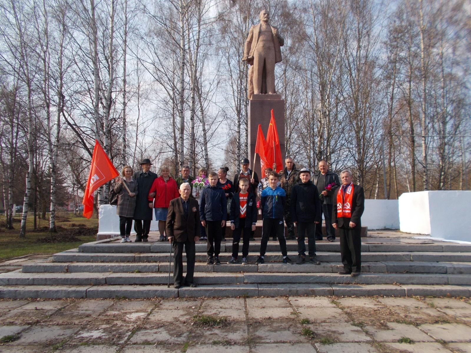 День рождения В.И. Ленина в Чучково
