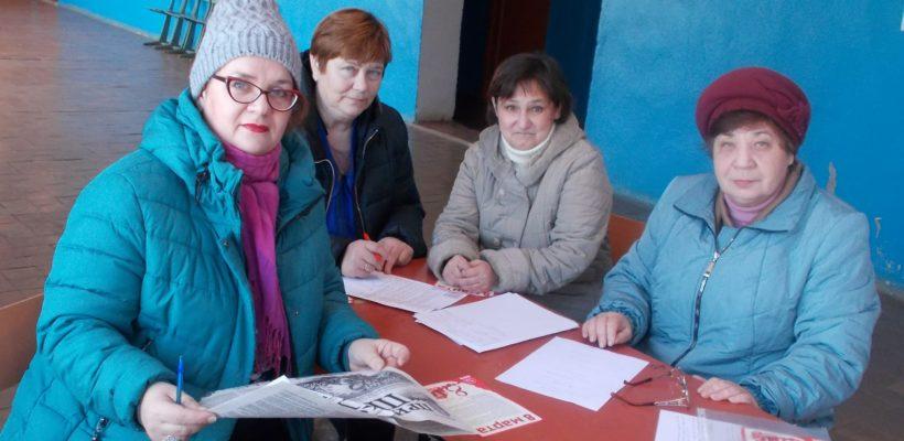В Милославском районе растёт влияние партийной организации