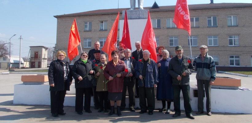День рождения В.И. Ленина в Милославском