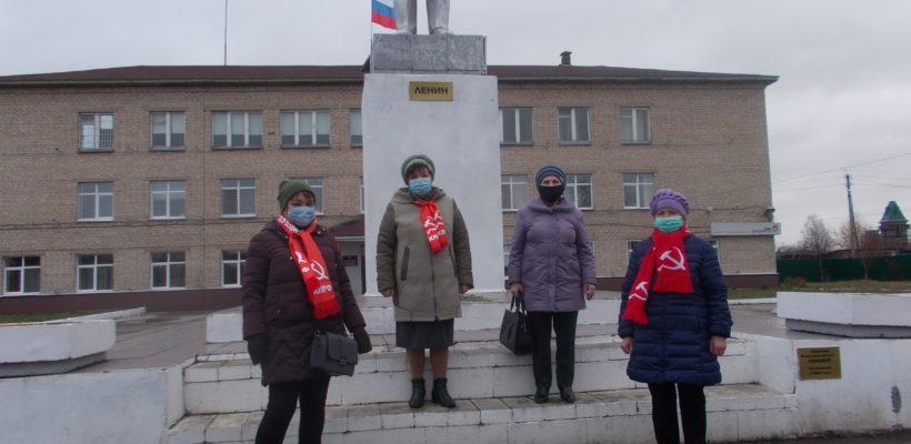 103 годовщина Великого Октября в Милославке