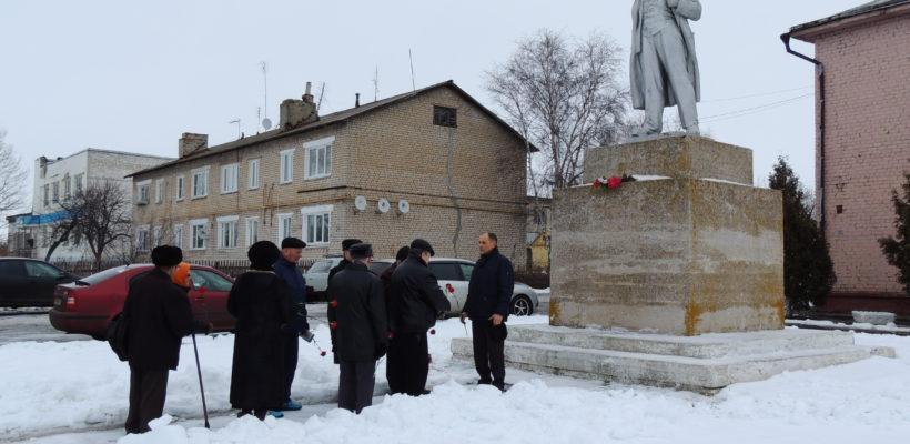 День памяти В.И. Ленина в Ухолове
