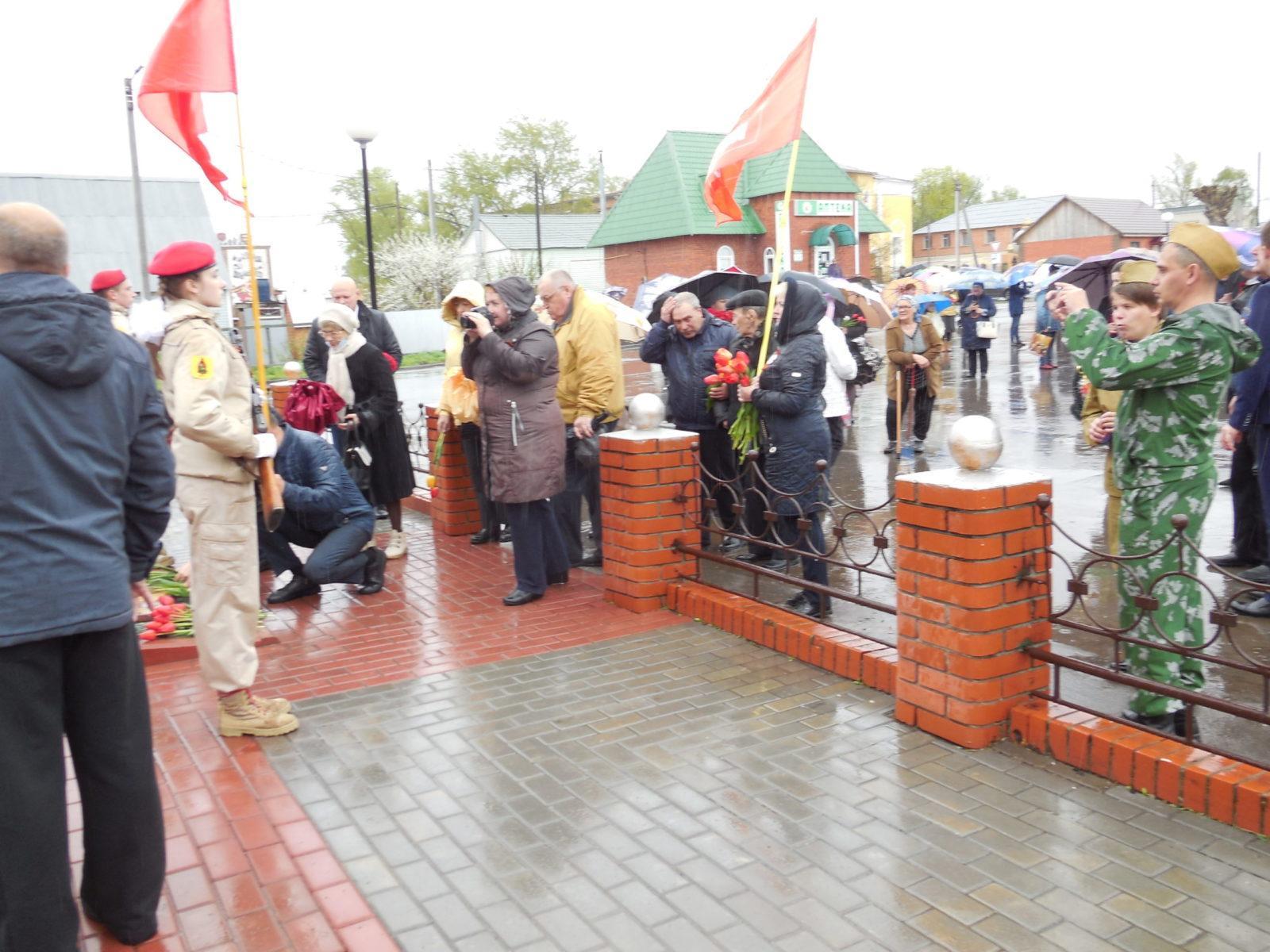 День Победы в Ухоловском РК