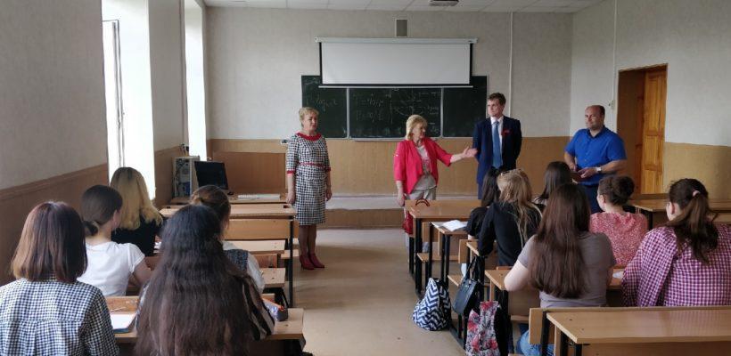 Коммунисты поздравили сотрудников и студентов РГРТУ с Днём радио