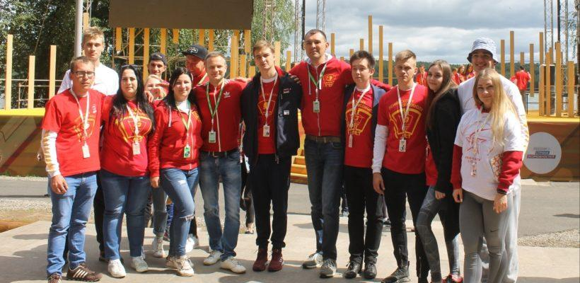 Рязанская делегация комсомола на «Территории смыслов 2019»
