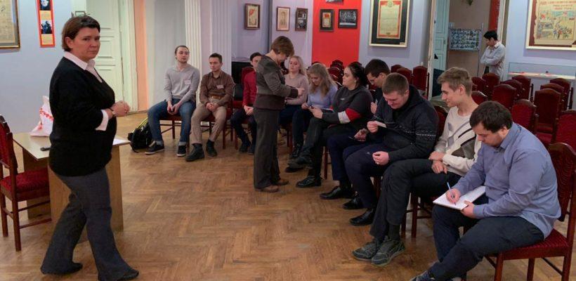 Комсомольцы Рязани приняли участие в опросе о популяризации музеев среди молодёжи
