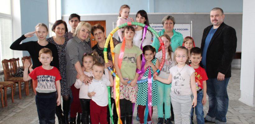 В МКЦ города Сасово прошло мероприятие для детей ко Дню космонавтики