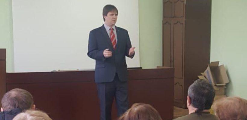 Депутат-коммунист провёл встречу с работниками МУП УРТ
