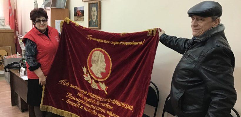 4 марта накануне дня памяти И.В. Сталина состоялось бюро комитета Сасовского городского отделения КПРФ