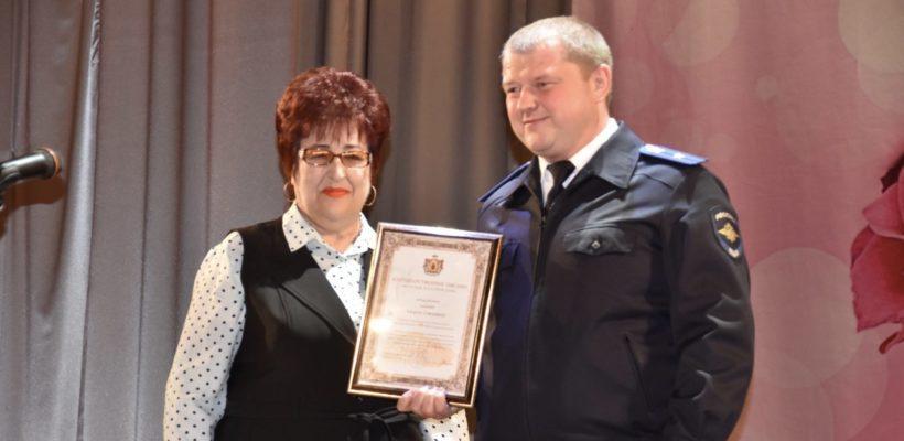 Галина Гнускина поздравила с профессиональным праздником сотрудников внутренних дел