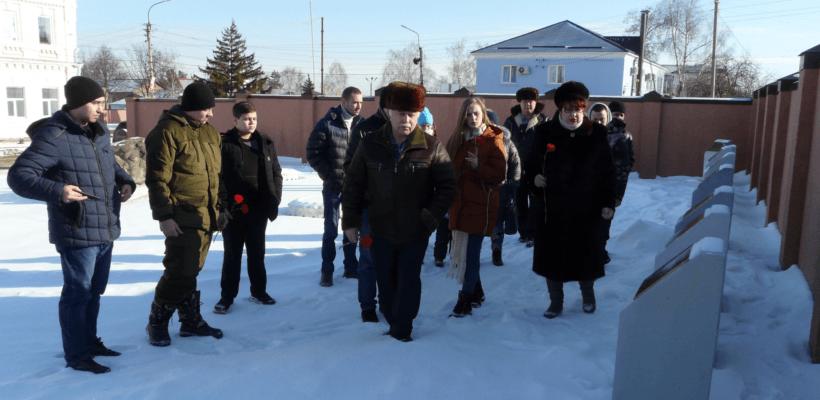 День памяти юных героев-антифашистов в Сасово