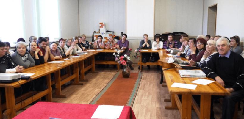 Галина Гнускина приняла участие во встрече с клубными работниками