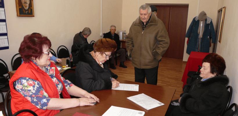 Состоялась встреча первого секретаря Сасовского горкома с ветеранами партии