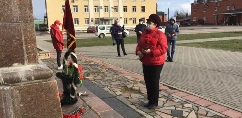 Сасовский горком КПРФ встречает 150-ую годовщину со дня рождения В.И. Ленина