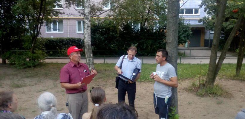 Депутат КПРФ встретился с жителями Канищево