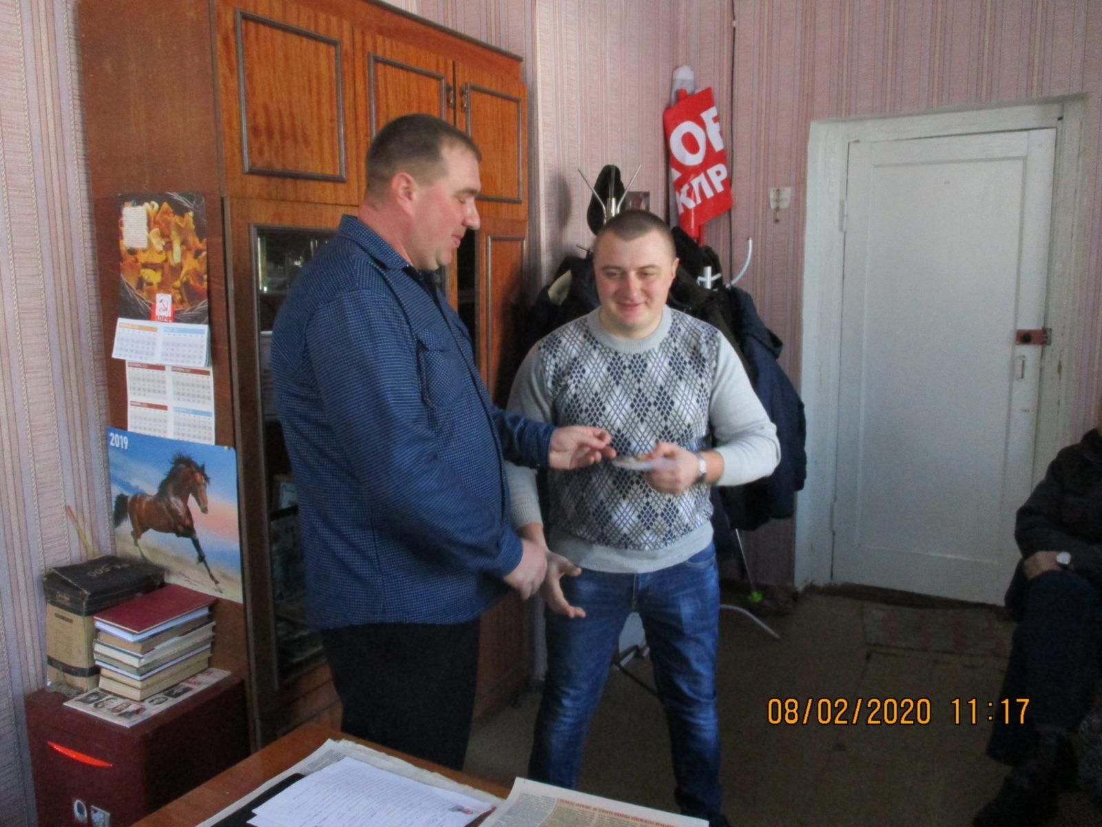 Состоялось очередное собрание коммунистов Кораблинского района