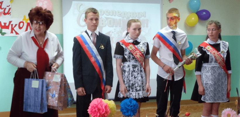 Последние звонки в школах Сасовского и Кадомского районов