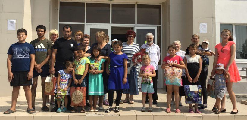 Галина Гнускина приняла участие в акции поддержки многодетных и малообеспеченных семей «С любовью к детям»