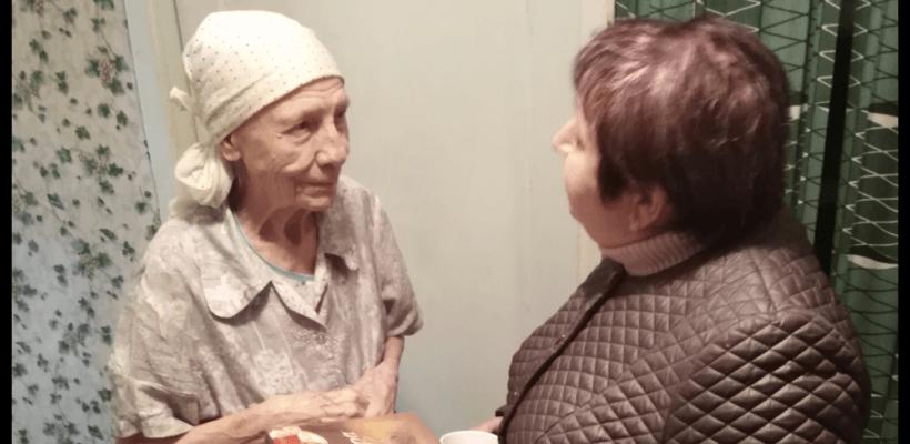 Сасовские коммунисты поздравили пожилых людей с Международным праздником