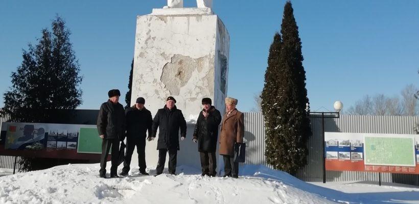 День Советской Армии и Военно-Морского Флота в Скопине