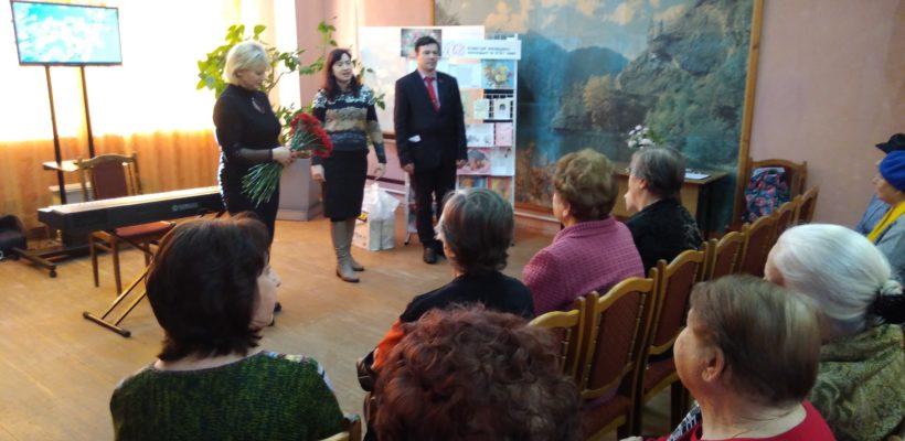Депутаты-коммунисты и активисты ВЖС «Надежда России» поздравили женщин-общественниц с 8 Марта