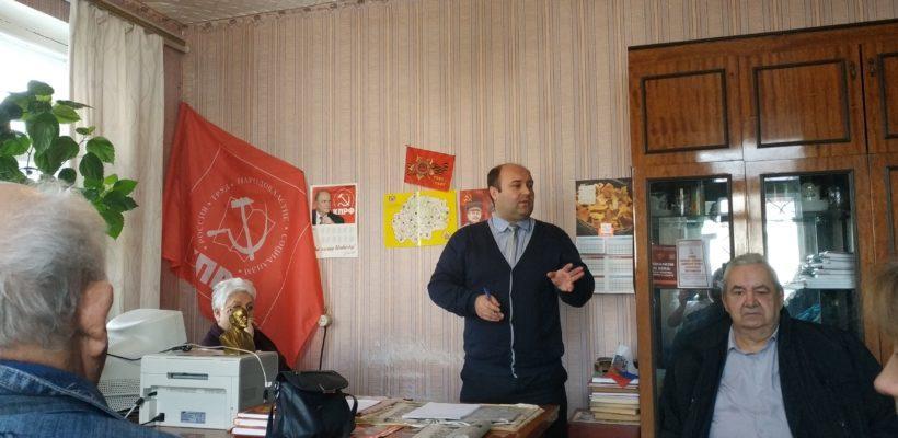 Вести наступательную пропаганду! Денис Сидоров принял участие в Пленуме Кораблинского райкома