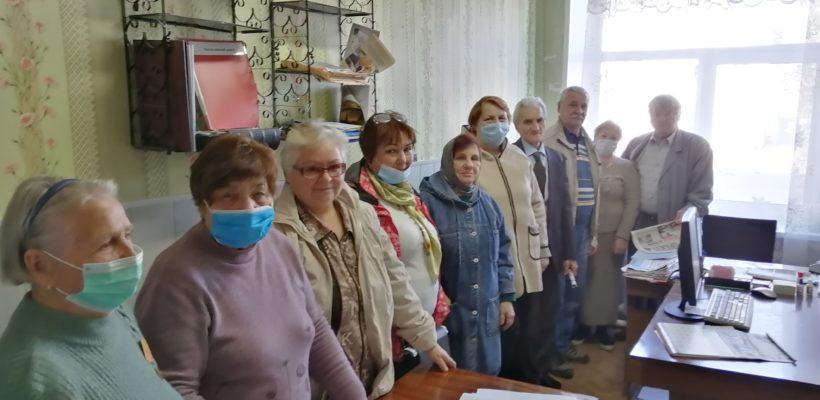 Пленум в Милославском РК КПРФ