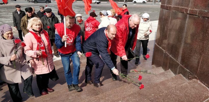 Торжественные мероприятия, посвященные 151-й годовщине со Дня рождения В.И. Ленина, прошли в Рязани