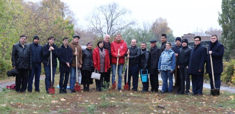 В Рязани состоялась акция «Сад Победы – Сад Жизни»