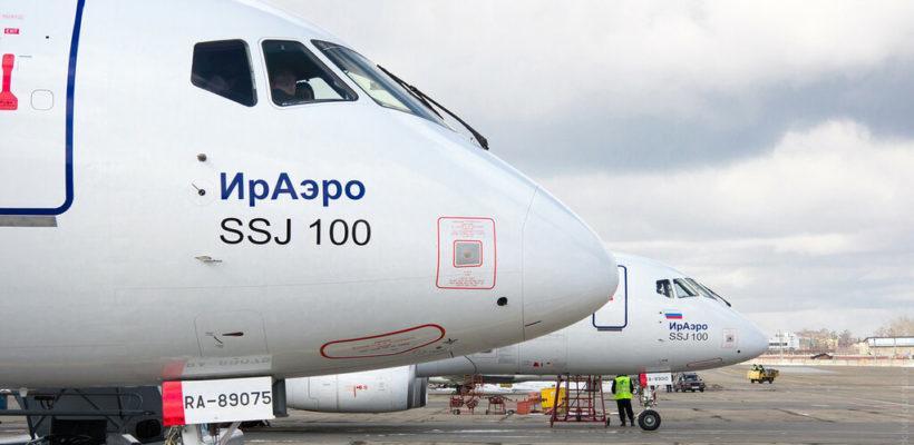 Заслуженный летчик России назвал коррупцию причиной возгорания SSJ-100