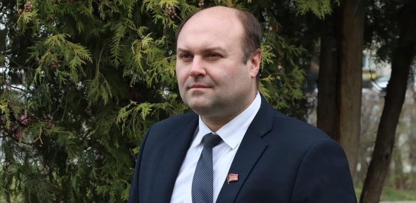 Поздравление первого секретаря Рязанского обкома КПРФ со 150-й годовщиной со дня рождения В.И. Ленина