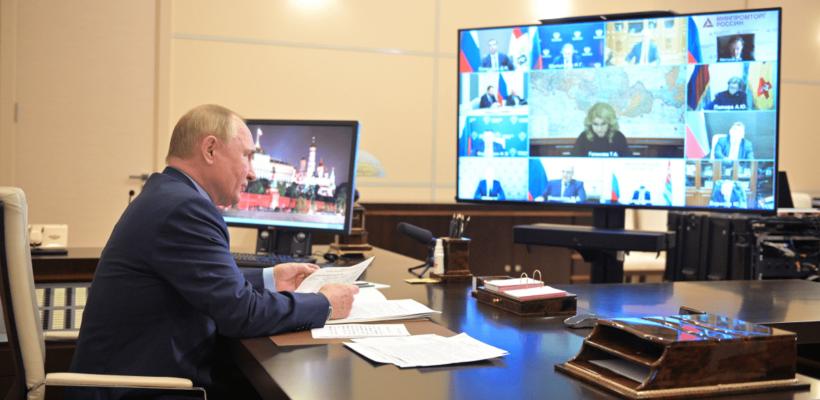Путин объявил нерабочими днями с 30 октября по 7 ноября