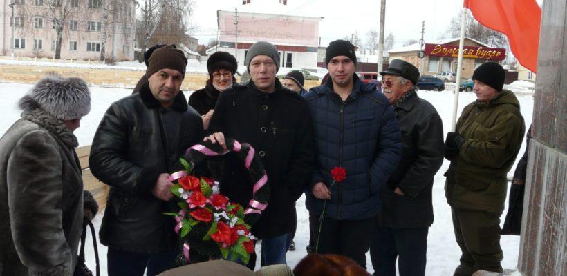 Сасовские коммунисты помнят и чтят Ленина
