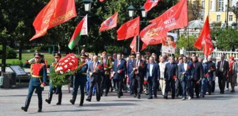 Геннадий Зюганов: «Наши отцы-победители справились с историческими задачами. Сегодня вызов стоит перед нами»