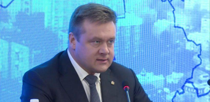 Состоялась итоговая пресс-конференция губернатора Рязанской области Николая Любимова