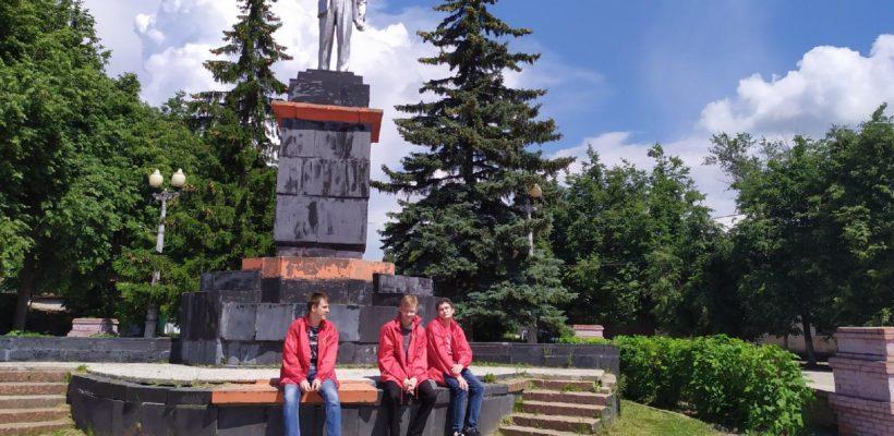 Касимовские коммунисты провели субботник ко Дню Памяти