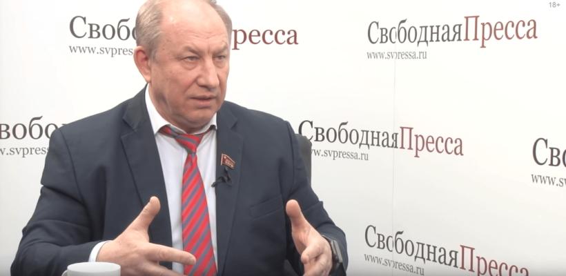 Валерий Рашкин: Минимум 15 миллионов россиян окажутся безработными, пополнив ряды 21 миллиона нищих