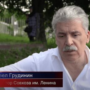 Грудинин: Мне не нравится то, что случилось со страной