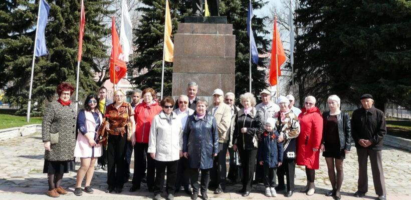 «С именем Ленина – к победе социализма!». В Сасово отметили День рождения вождя мирового пролетариата