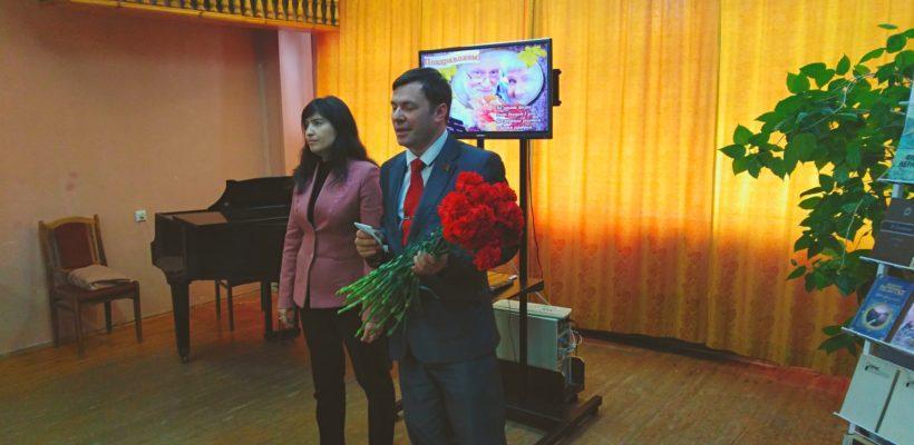 Депутаты-коммунисты поздравили активистов ветеранской организации