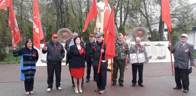 Клепиковские коммунисты торжественно отметили День Победы
