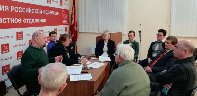 Октябрьский райком КПРФ уделяет большое внимание политучёбе молодых коммунистов