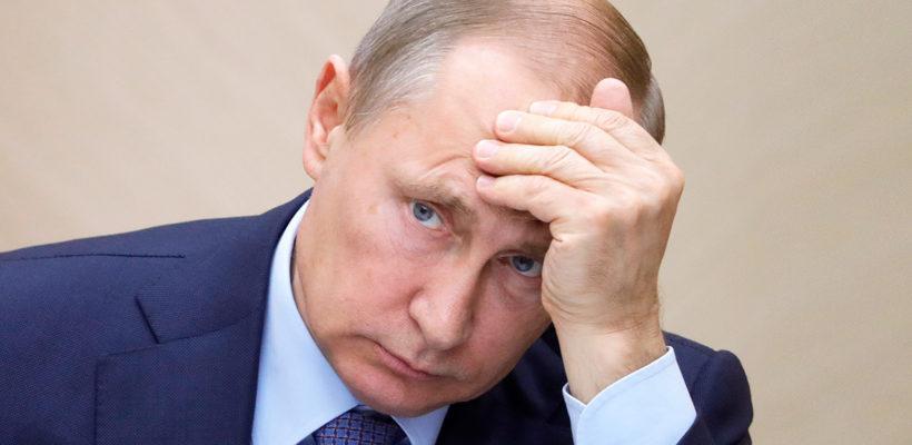 Соцопросы вновь отметили максимальное снижение уровня доверия россиян к Путину