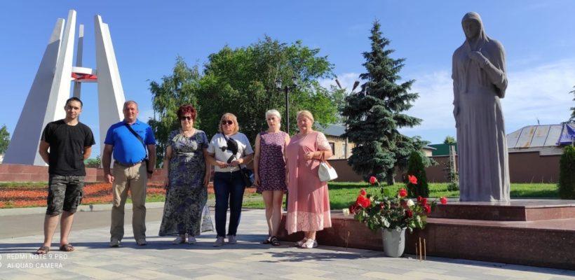Сасовские коммунисты почтили память погибших в годы Великой Отечественной войны