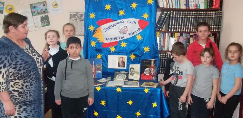 День космонавтики и 100-летие Ленинского субботника отметили члены Сасовского горкома КПРФ с юными читателями библиотеки